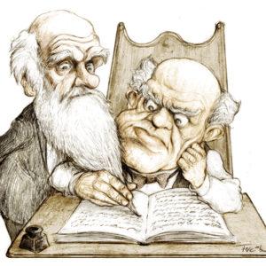 Sarmiento y Darwin