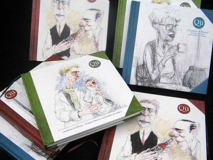 Cuadernos de dibujo Qu