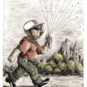 Paseador de moscas y mosquitos