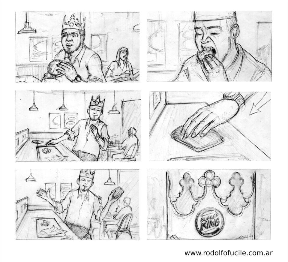 Storyboard Burger King