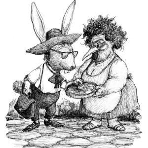 Tío conejo comerciante