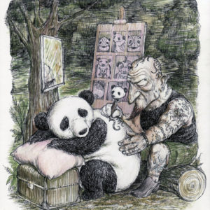 Tatuador de pandas