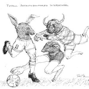 Futbol antropozoomorfo internacional