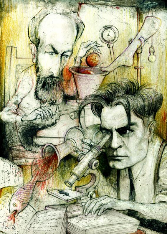 Horacio Quiroga y Roberto Arlt