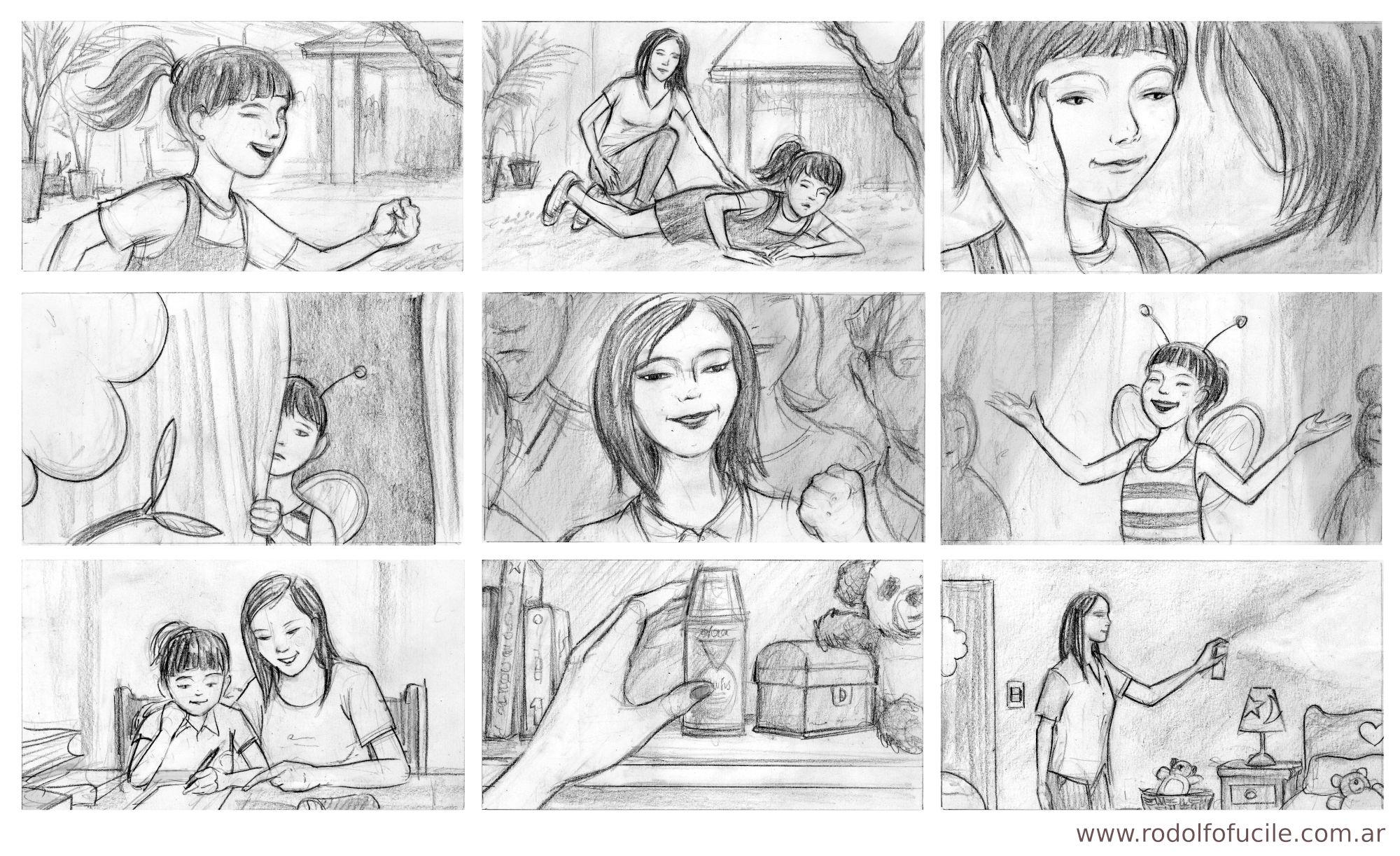 Storyboard Baygon